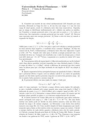 Lista-3 (PDF) - Professores da UFF