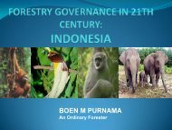 Forestry Governance in 21st Century - Rights and Resources Initiative