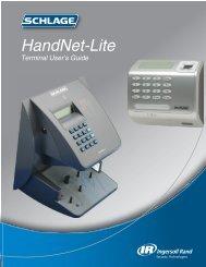 HandNet Lite Manual - Security Technologies