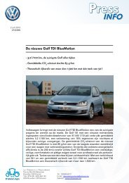 Klik hier: De nieuwe Golf TDI BlueMotion - D'Ieteren Lease