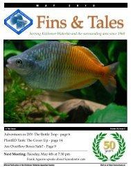 May 2010 - Kitchener Waterloo Aquarium Society