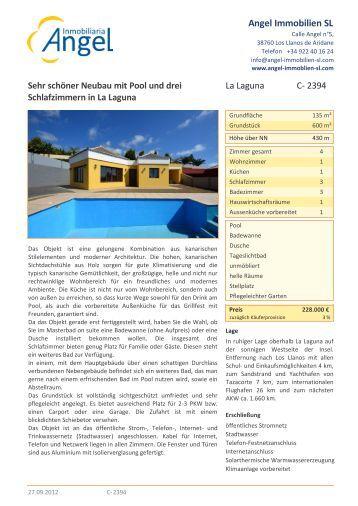 Druckversion öffnen - Angel Immobilien La Palma