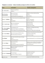 Mitgliederverzeichnis - Deutsche Gesellschaft für Soziologie