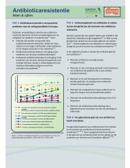 fact sheet antibioticaresistentie EAD
