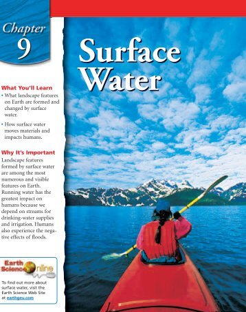 Chapter 9: Surface Water