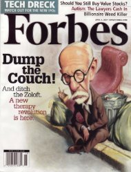 Forbes Magazine - American Institute for Cognitive Therapy