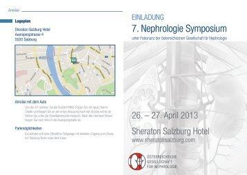 7. Nephrologie Symposium - Was ist Nephrologie?