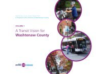 A Transit Vision for Washtenaw County - The Ann Arbor Chronicle