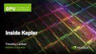 Inside Kepler - Prace Training Portal