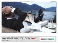 Lokale Mediadaten 2013 - WESTSELLER