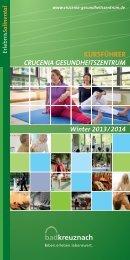 Kursführer 2013/2014 - und Gesundheitszentrum Bad Kreuznach