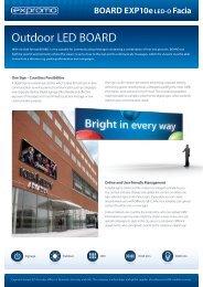 BOARD EXP10e LED-O Facia - ProShop Europe