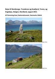 Trondenes og Kvæfjord, Troms, og Engeløya, Steigen, Nordland ...