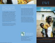 Why study Ewe? - National African Language Resource Center