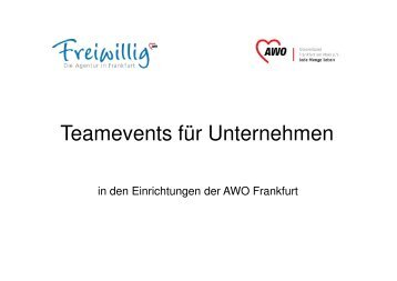 (Microsoft PowerPoint - Teamevents 2010.ppt [Kompatibilit ...