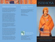 isixhosa - National African Language Resource Center - Indiana ...