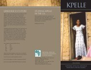 kpelle - National African Language Resource Center