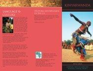 Kinyarwanda - National African Language Resource Center