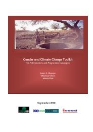 Gender and Climate Change Toolkit - Nigeria Climate Action Network