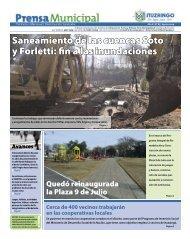 Saneamiento de las cuencas Soto y Forletti: fin a las ... - Ituzaingó