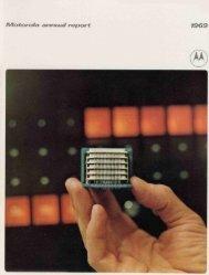 Motorola annual report 1969 - Motorola Solutions