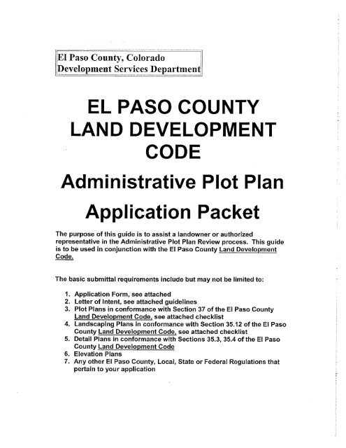 Admin Plot Plan with Landscape Checklist - Administration Home