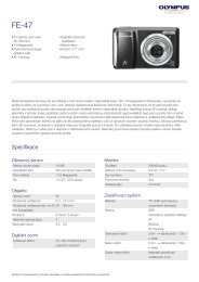 FE-47, Olympus, Compact Cameras