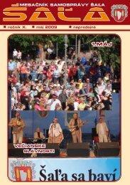 na stiahnutie (pdf - 1.74 MB) - Mesto Šaľa