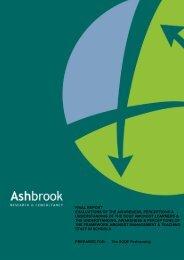 Ashbrook Report - Scottish Credit and Qualifications Framework