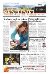 May 2, 2013 PDF Edition - The Sentinel