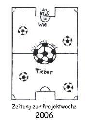 Zeitung zur Projektwoche - Schulen in der Region Oberberg