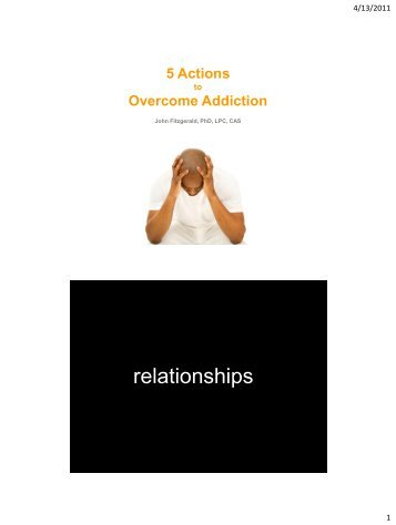 5 Actions to Overcome Addiction - Addiction Management