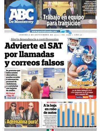 Advierte el SAT por llamadas y correos falsos - Periodicoabc.mx