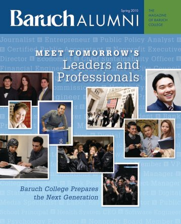 ALUMNI - Baruch College - CUNY