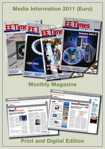 Monthly Magazine Print and Digital Edition ... - EE Times Europe