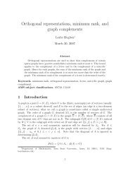 Orthogonal representations, minimum rank, and graph complements