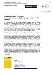 List & Label schnell + kompakt - combit GmbH
