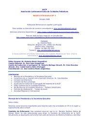 Boletín Informativo Nº 3 - Asociación Latinoamericana de Cuidados ...