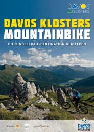 Davos Klosters Mountainbike - Guide VTT