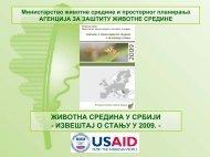 Национална листа индикатора - Agencija za zaštitu životne sredine
