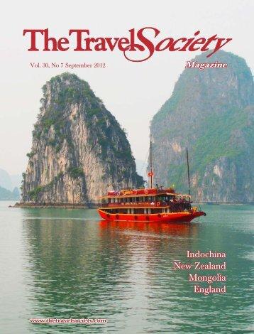 Indochina New Zealand Mongolia England - The Travel Society