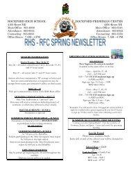 rockford high school rockford freshman center - Rockford Public ...