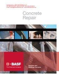 Concrete Repair Products - Best Materials