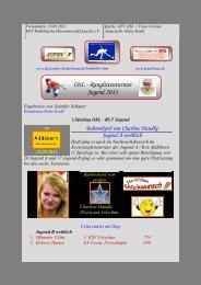 OSL - Ranglistenturnier Jugend 2012 - kegeln-osl.de