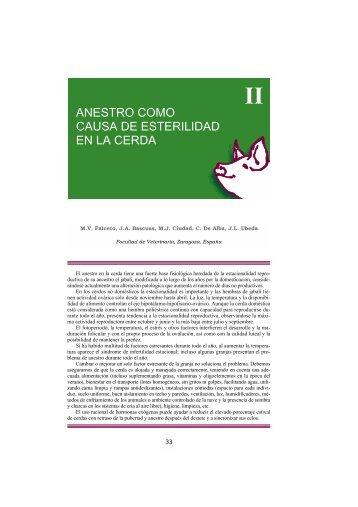 anestro como causa de esterilidad en la cerda - Asociación de ...