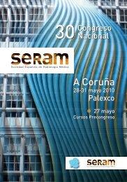 Descargar programa científico - 30 Congreso de la SERAM. A ...