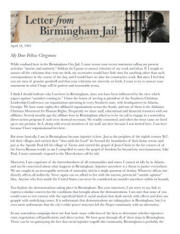 letter from birmingham jail pdf letter from a birmingham excerpt auburn city schools 22844 | letter from birmingham jail city of elk grove