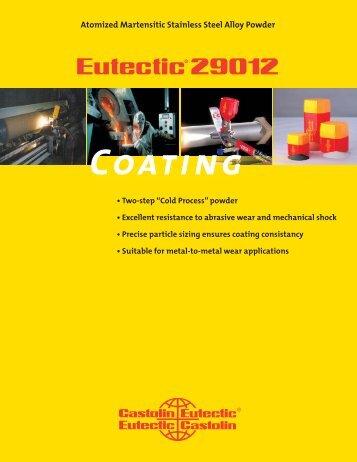 Eutectic 29012.indd - Castolin Eutectic