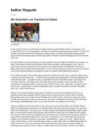 Indien Magazin - ASleben