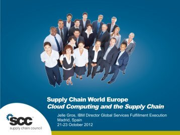 Jelle Gros - Cloud Computing.pdf - Supply Chain Council
